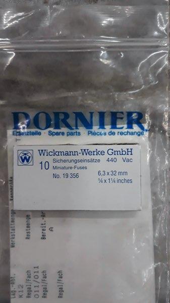 Dornier Original Parts