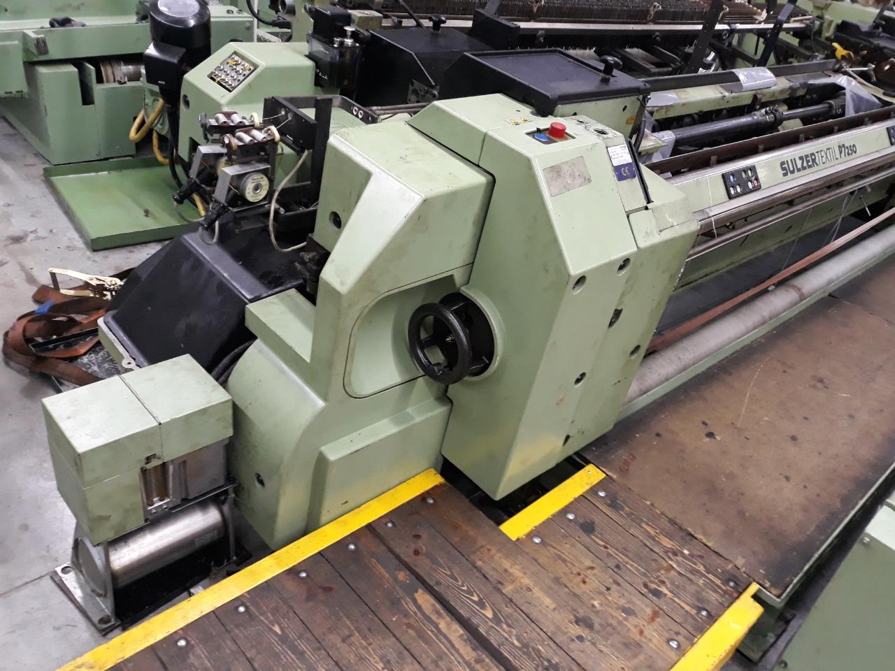 4 Sulzer P7200/P7250 D1 Projectile Looms